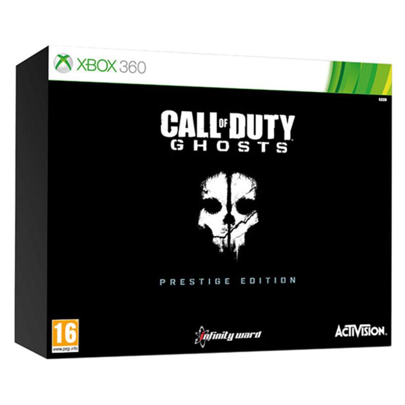 Call of Duty Ghost Xbox 360 Edicion Prestigio Ideal para Coleccionistas