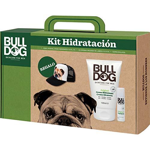 Kit Hidratación de Cara y Labios, Incluye Crema Hidratante Original 100 ml + Bálsamo Labial 4 g + Gorra de Regalo, Bulldog