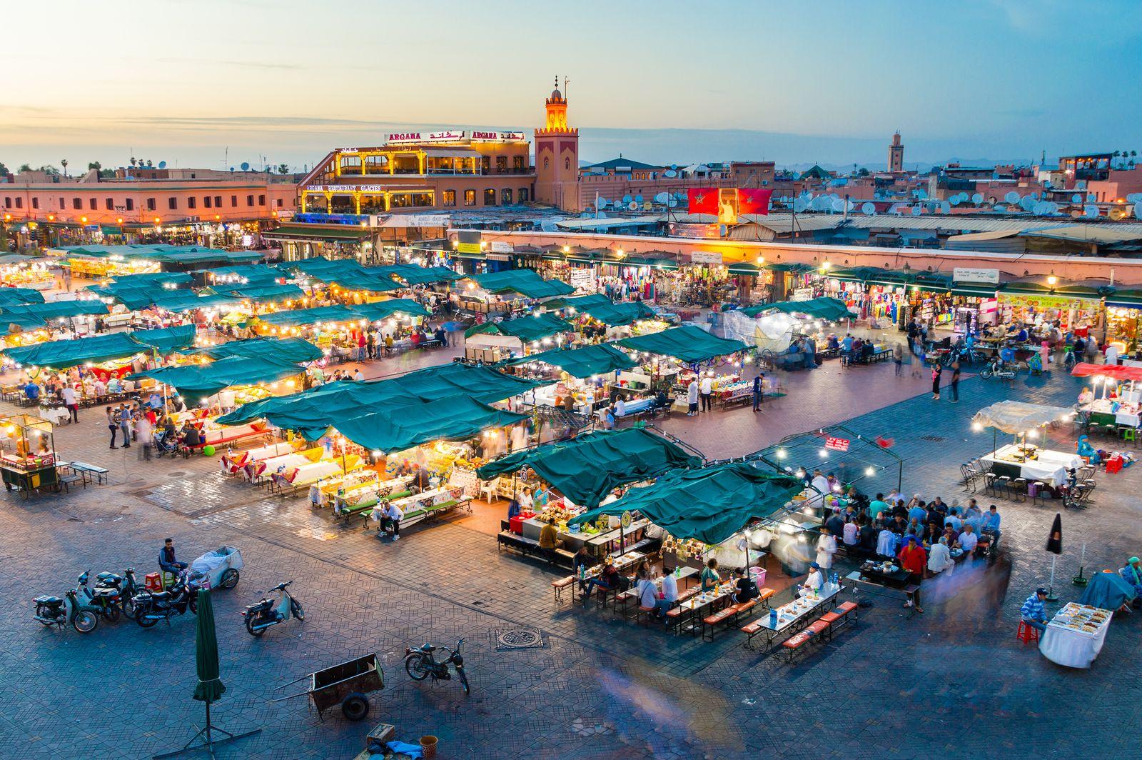 Vuelo Ida + Vuelta Málaga - Marrakech