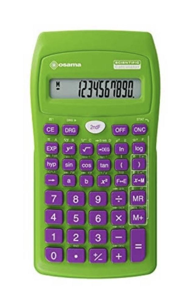 Osama Calculadora científica 56 funciones