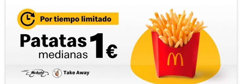 Patatas medianas a 1€