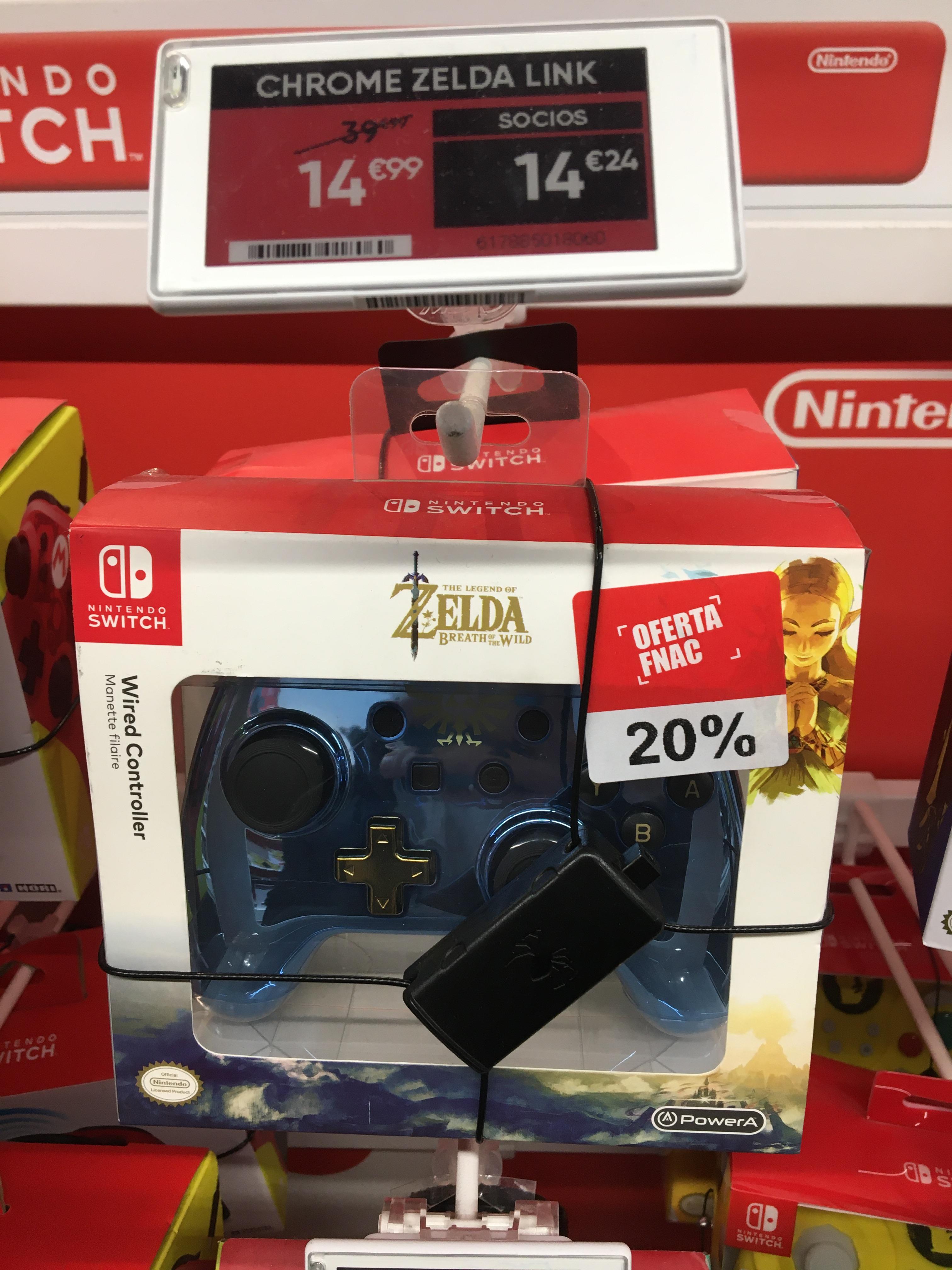 Mando Chrome Zelda para Nintendo Switch