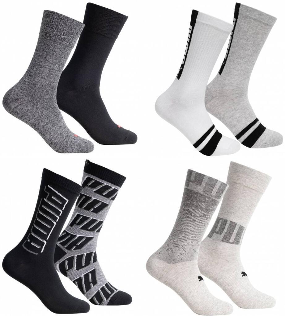 PUMA Anthrazit 2 pares de calcetines