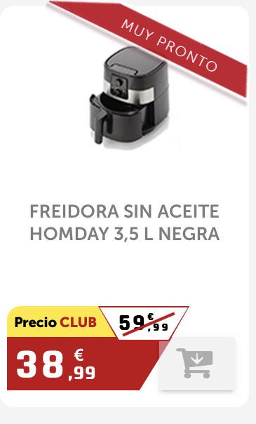 Freidora sin aceite Homday 3.5L
