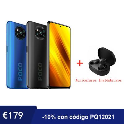 Xiaomi Poco X3 NFC 6GB 128GB + Regalo auriculares inalambricos - Desde España