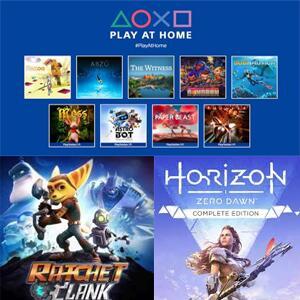 PlayStation :: 4 meses de juegos gratis y ofertas #PlayAtHome