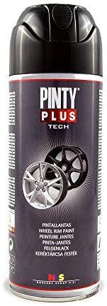 PINTYPLUS AUTO 736 Pintura Spray Pinta Llantas 520cc,negro