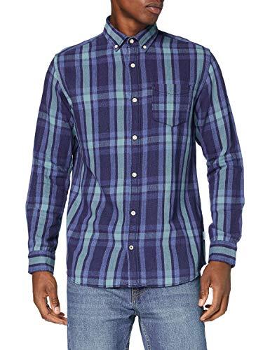Jack & Jones Jjbyron Shirt LS Camisa para Hombre talla L