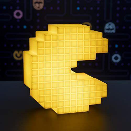 Lámpara 3D Pacman Pixel