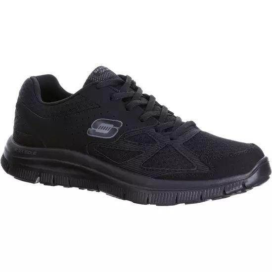 Skechers Flex Advantage Hombre Zapatillas Caminar Negro