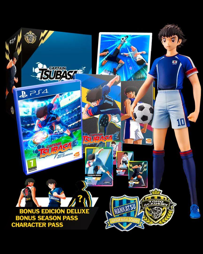 Captain Tsubasa Ed. Coleccionista Ps4/Switch