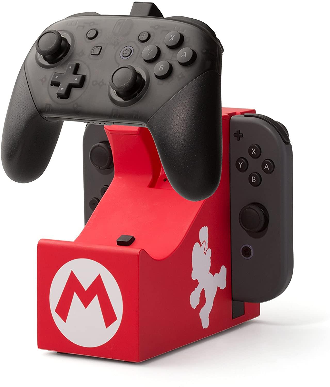 Base de carga Nintendo Mario