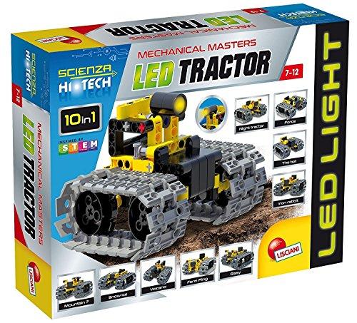 Juego de construcciones mini con led, tractor