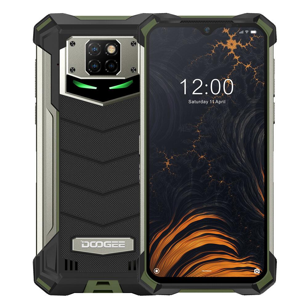 DOOGEE S88 Plus Rugged 8GB+128GB [NFC, Carga inalámbrica 10W][B20][Versión EU]