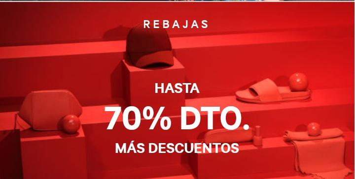 Hasta el 70% Dto. en H&M