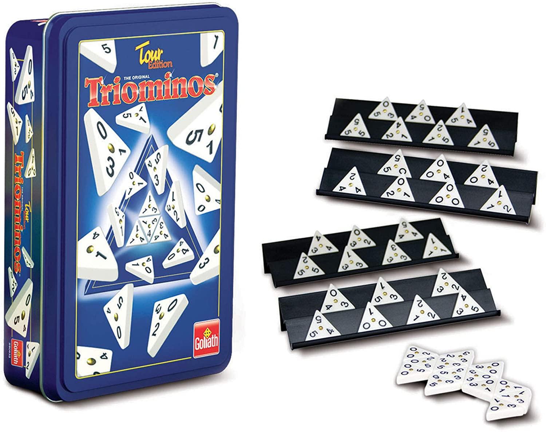 Juego Triominos caja metálica solo 9.9€