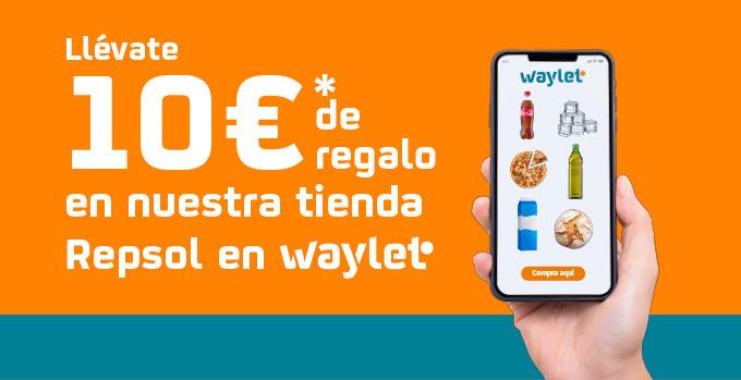 10€ de regalo en la tienda online de WAYLET