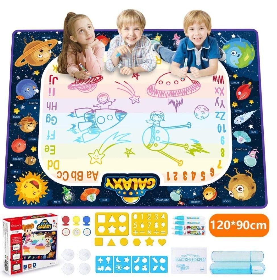 pizarra alfombra mágica de agua,juguete educativo(120x90)(precio mínimo)