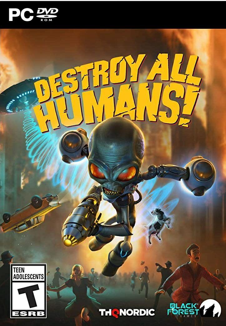 Destroy All Humans - PC Físico [Con Código STEAM]