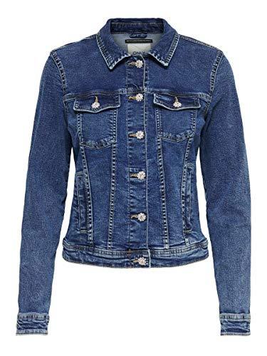 Only Onltia Dnm Rhinestone Jacket Chaqueta para Mujer. TALLA XS y M