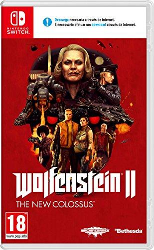 Wolfenstein II: The New Colossus [Nintendo Switch] Amazon y MediaMarkt por 24,99 €