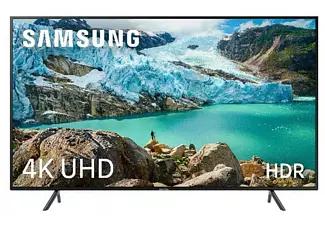 "TV LED 55"" - Samsung 55RU7105, 4K UHD, HDR, Smart TV, Bluetooth,"