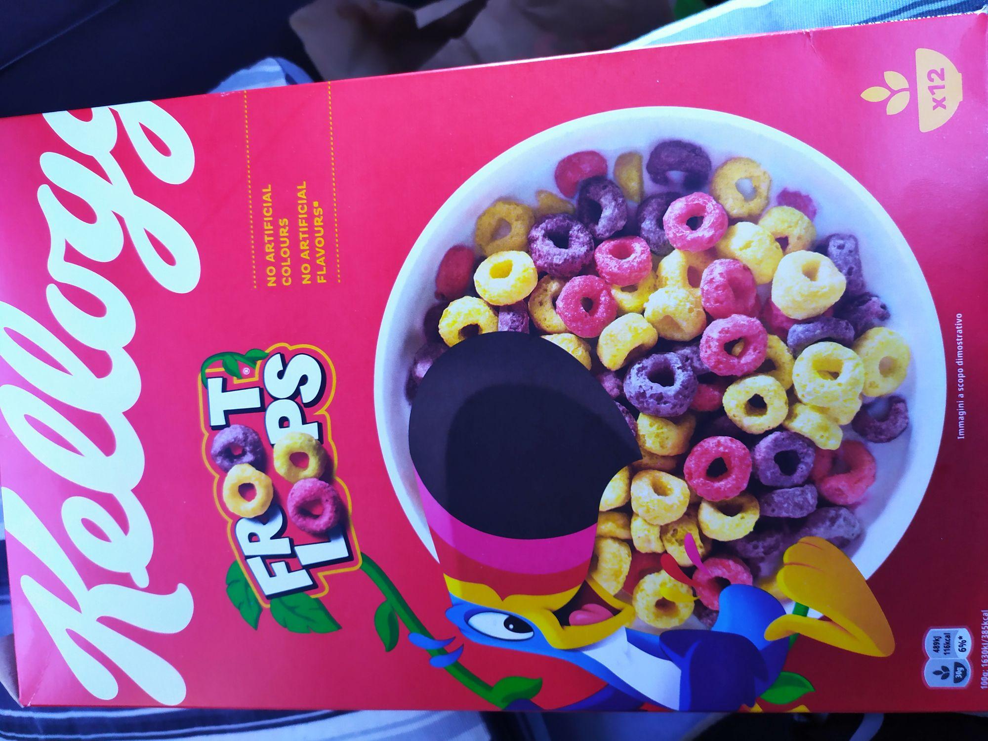 Cereales froot loops en dealz en tienda de Pinatar park murcia