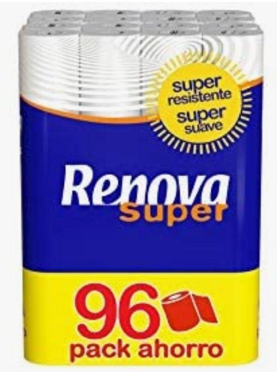 Renova Papel Higiénico Super - 96 Rollos Con compra recurrente