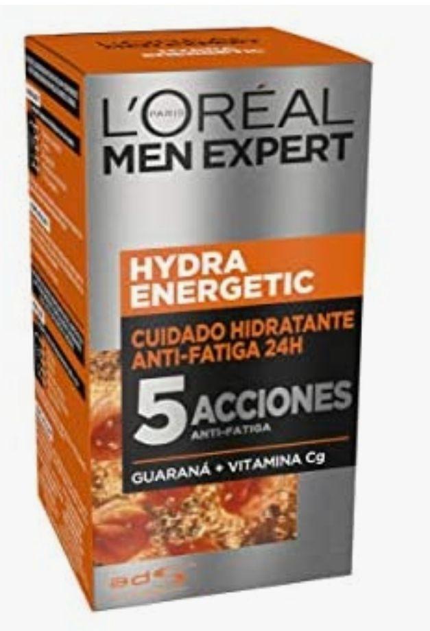 L'Oréal Paris Men Expert - 24H Hydra Energetic cuidado hidratante anti-fatiga, 50 ml Con compra recurrente