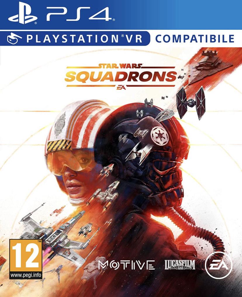 STAR WARS: Squadrons por 16,99€ (Socios Fnac) y Jedi Fallen Order por 16,99€ (Socios, recogida en tienda)