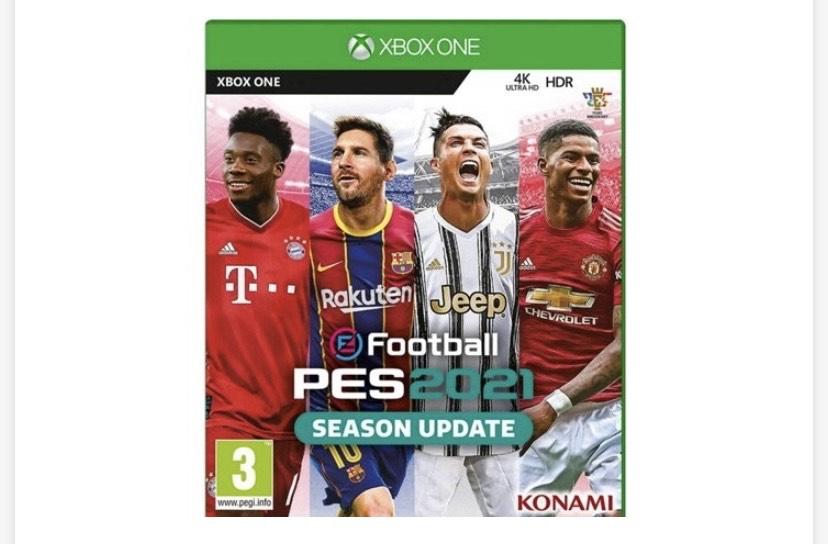Juego Xbox One PES 2021