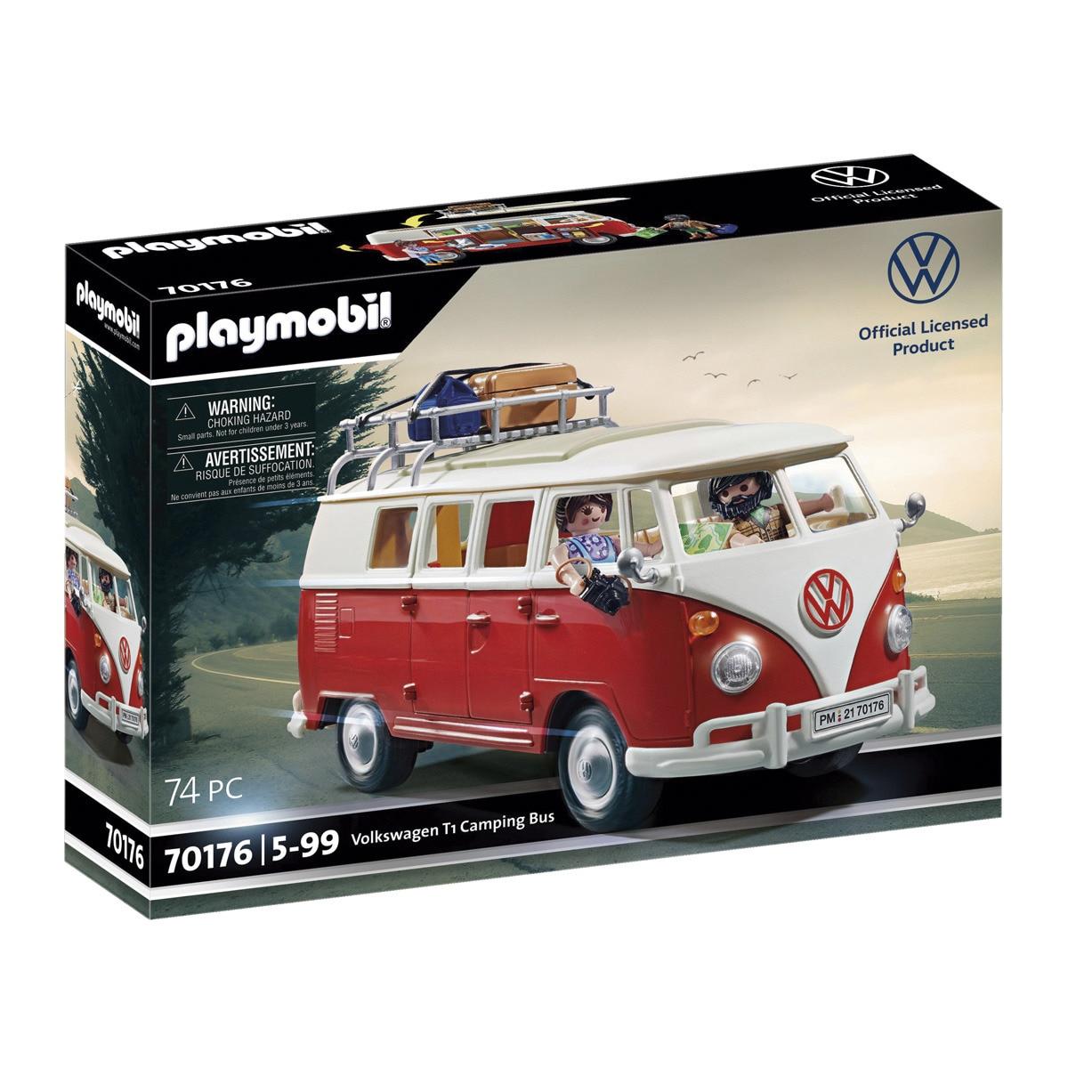 Suscriptores El Corte Inglés Plus -Volkswagen T1 Camping Bus Playmobil