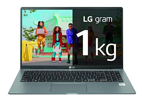 "LG gram - Portátil Ultraligero de 15"" FHD IPS (1kg, bateria 18.5 h, Intel i7 11ª Gen Iris Graphics, 16GB RAM, 512GB SSD NVMe, Windows 10)"