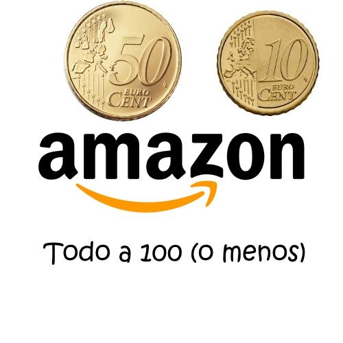 Más de 100 centichollos de Amazon a precio de todo a cien (<0,60€)
