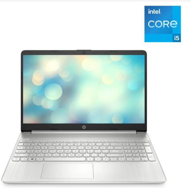 Portátil HP 15s-fq2087ns, i5, 16GB, 512GB SSD, FreeDOS (539,10 euros con alta El Corte Inglés +)