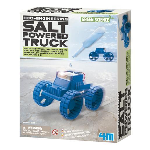 Camión Energizado con Agua Salada