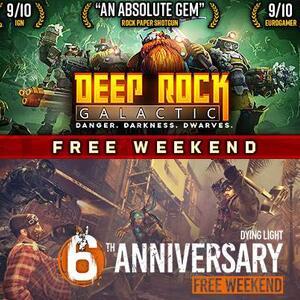 STEAM :: Juega gratis Deep Rock Galactic y Dying Light
