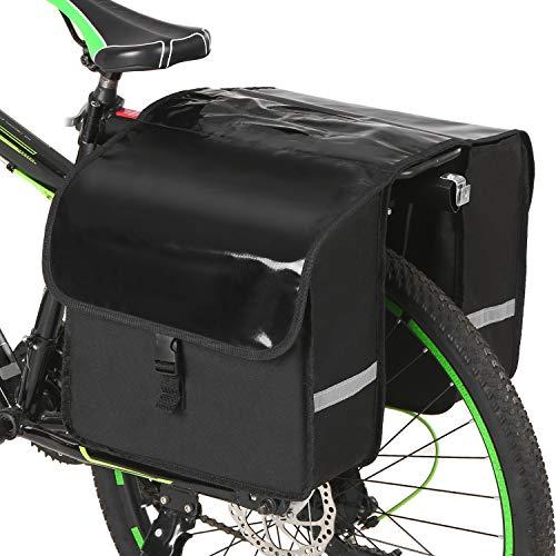 Bolsa Alforja Trasera para Bicicleta 28 L, Impermeables.