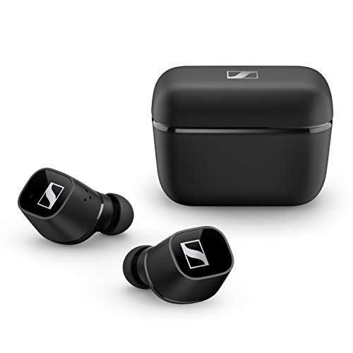 Sennheiser Auriculares CX 400BT Bluetooth con Control táctil, Negro