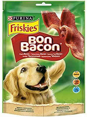 Friskies - Bon Bacon - Alimento Complementario para Perros Adultos - 120 g