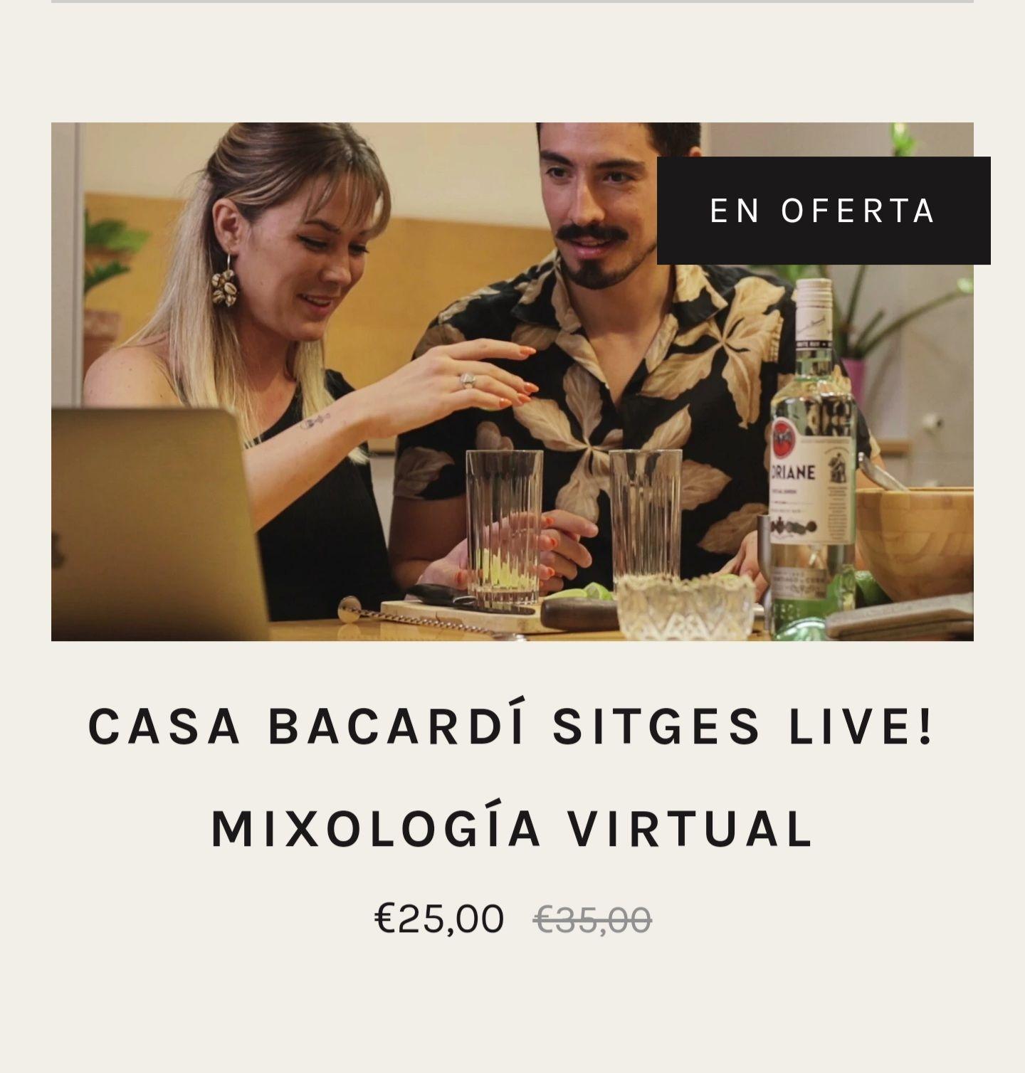 Curso cocteleria online de Bacardi