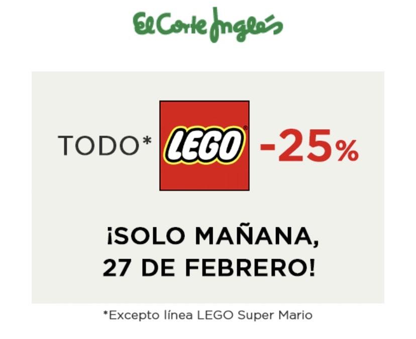 """""""Todo"""" Lego -25%"""