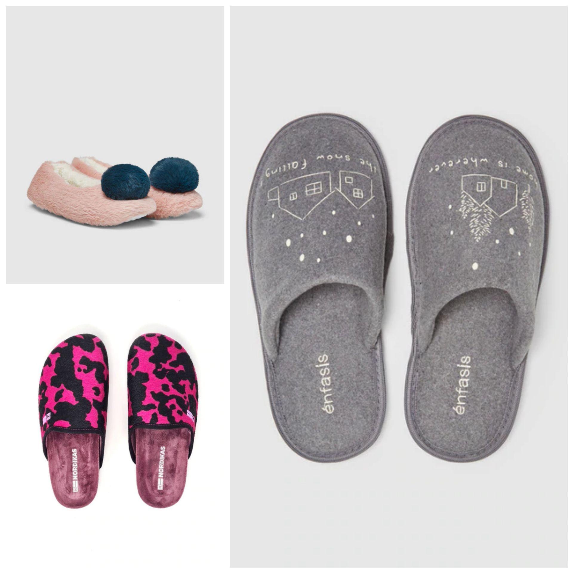 Zapatillas de Casa para Mujer - Varios Modelos