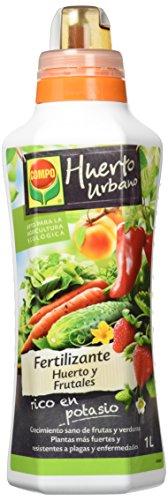 Compo Tipo de Frutas y Verduras, Fertilizante líquido Natural, 1 L