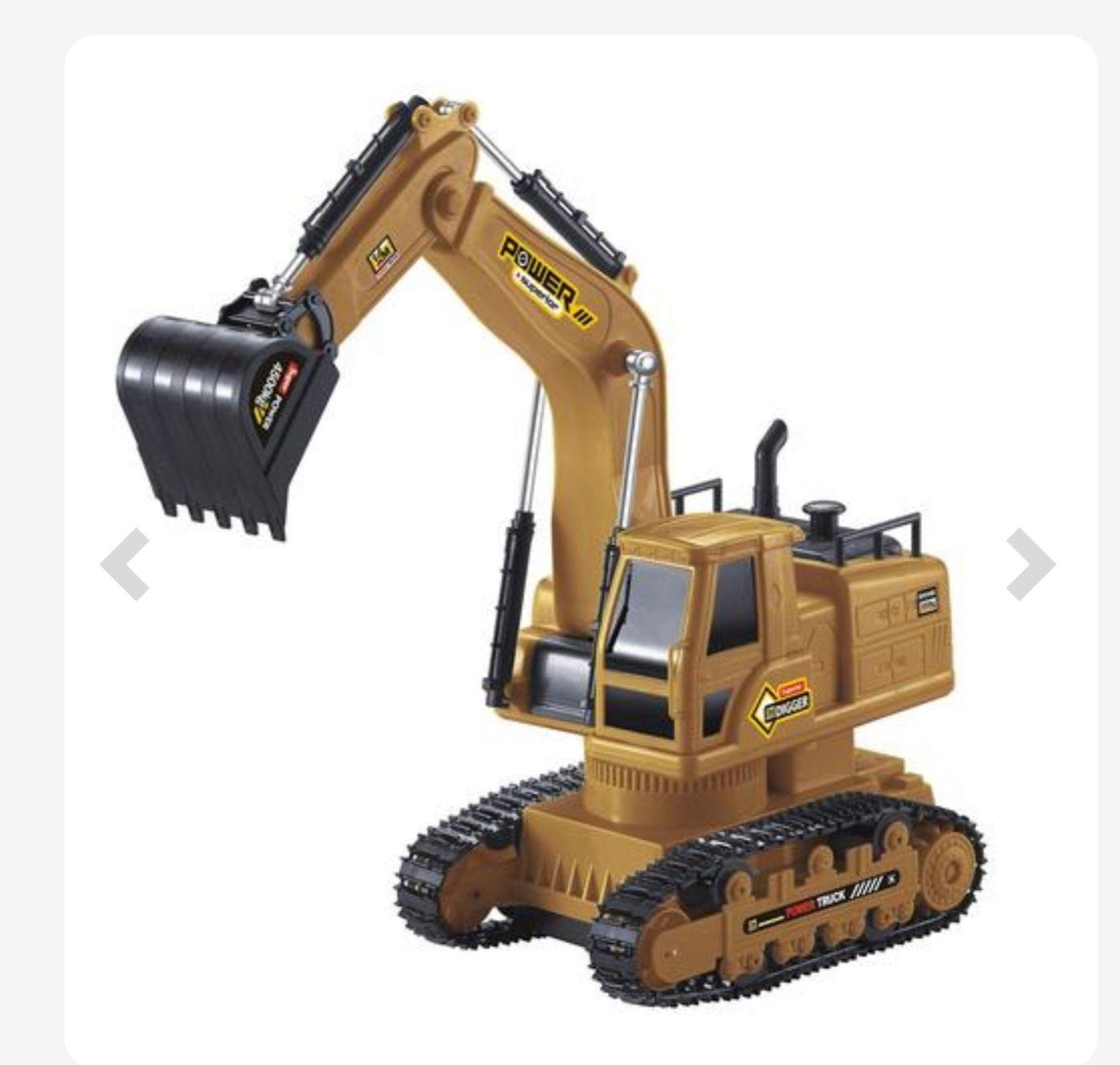 Excavadora con funciones