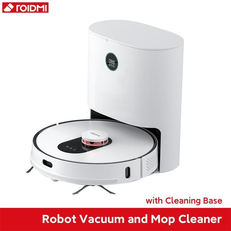 Robot Aspirador ROIDMI EVE PLUS con vaciado automático