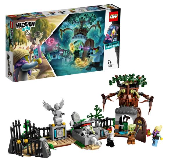 Lego Hidden Side misterio del cementerio solo 11.9€