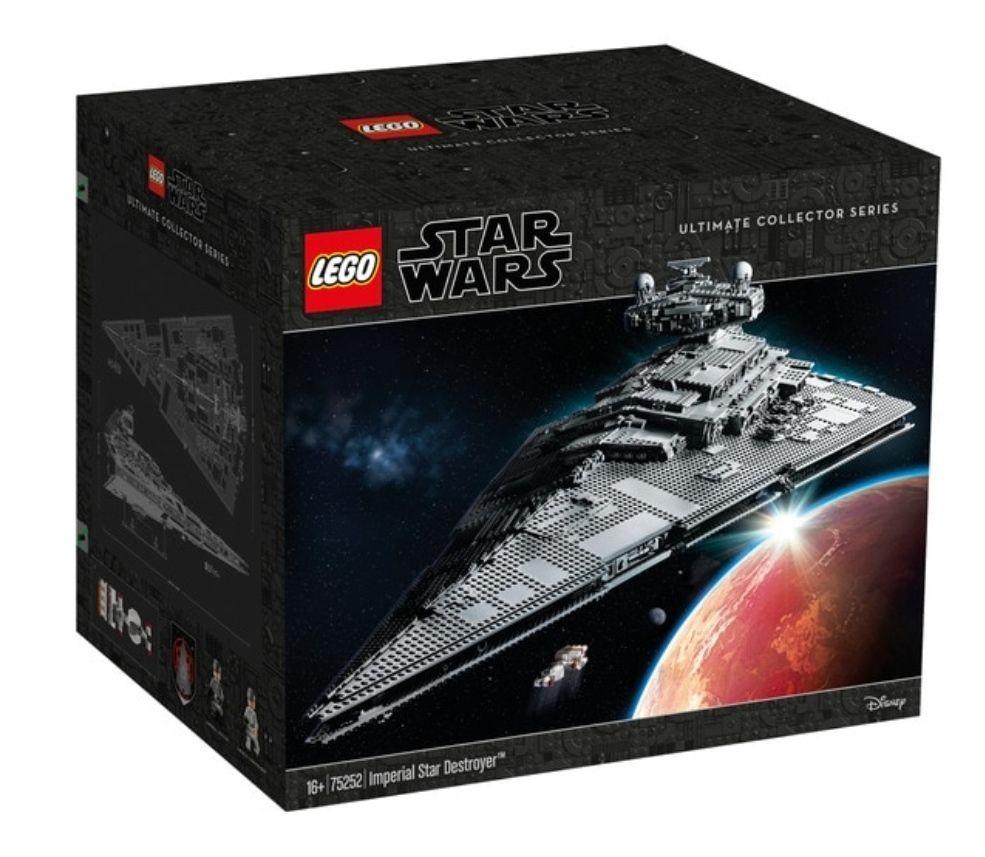Destructor Estelar Imperial Lego Star Wars MODELO: 75252