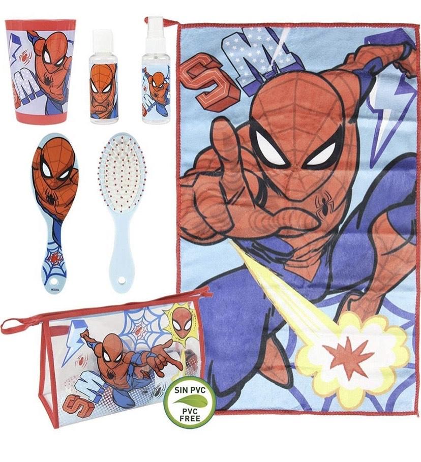 Set Aseo/Viaje Spiderman