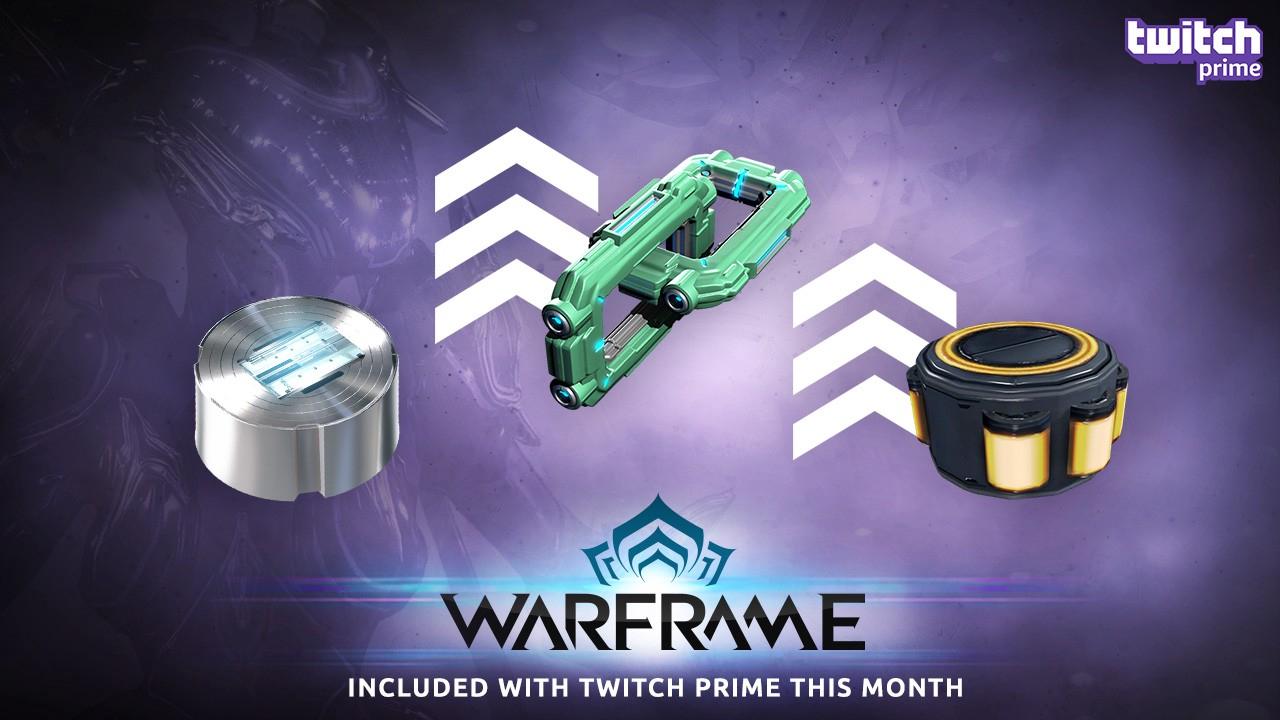Sube de nivel tu Arsenal con el paquete de Warframe Gear